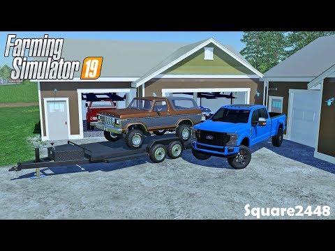 Buying 2020 F250 Tremor   Barn Find   Organizing Garage   Homeowner   Farming Simulator 19
