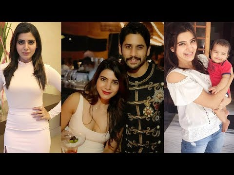 Actress Samantha Akkineni Family Photos /Samantha With Her Husband Naga Chaithanya