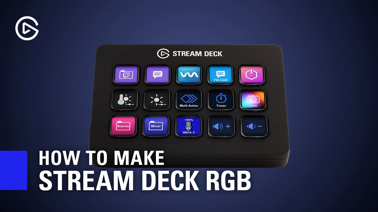 Using an Elgato Stream Deck for Video Editing and Colour