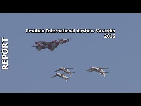 Croatian International Airshow Varazdin 2016