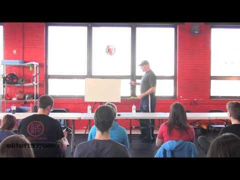 elitefts.com — Matt Rhodes at the Big Seminar (Part 1)