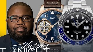 Rolex Batman Discontinued, IWC and Ulysse Nardin SIHH Releases, and more! thumbnail