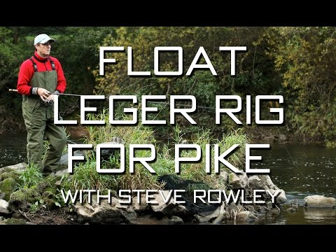Float Leger Rig For Pike With Steve Rowley