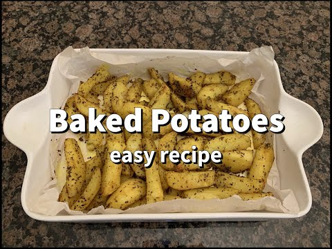 How To Baked Potatoes — Easy Recipe