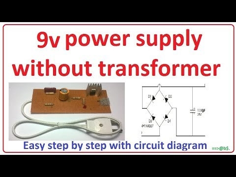 9 volt power supply youtube rh youtube com