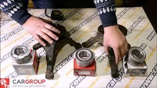 Подшипники передней ступицы на Renault Trafic, Opel Vivaro, Nissan Primastar