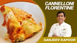 This Video Is Unavailable.     Veg Cannelloni Florentine's Pasta Recipe By Sanjeev Kapoor | Italian Cuisine