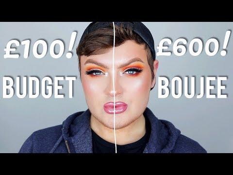 DRUGSTORE VS HIGH END FULL FACE! WHO WINS?   makeupbyjaack