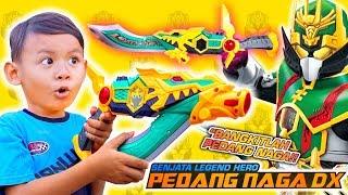 Unboxing Pedang Legend Hero Ganwu Naga Hijau DX Ukuran Jumbo | Main Pedang Legend Hero RTV Indonesia