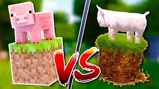 Minecraft MOBS vs. Real Life ANIMALS!