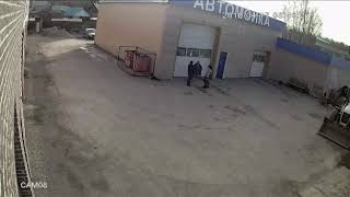 shocking Russia   ЖЕСТЬ НА АВТОМОЙКЕ