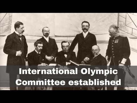 23rd June 1894: Establishment of the International Olympic Committee