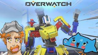 Overwatch - New Lego Bastion Skin! [with ZombiesGoNomb!]