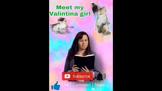CAT CUTE and FUNNY my VALENTINA