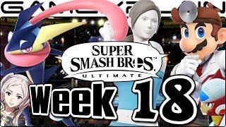Smash Bros. Ultimate Update: Dr. Mario, WFT, Greninja, Zero, Boxing Ring, & FE Music Remix - Week 18