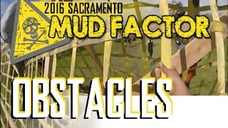 2016 Mud Factor Mud Run ORC │ Sacramento ( Obstacles Only )