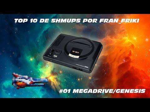 Top 10 SHMUPS por fran_friki - #01 Megadrive / Genesis
