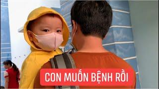 Con gái rượu Khương Dừa muốn bệnh mà ráng đi học, buồn thiu không nói câu nào!!!