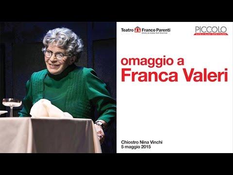 """Omaggio a Franca Valeri/Conferenza Stampa """"Il Cambio dei Cavalli"""""""