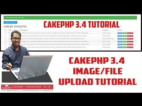 CakePHP Image/File Upload Tutorial