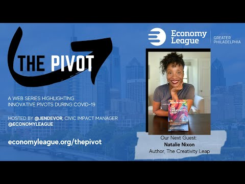 The Pivot: #20 The Creativity Leap with Natalie Nixon, Figure 8 Thinking