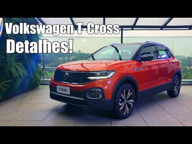 Volkswagen T-Cross 2019 Highline - Falando de Carro