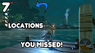 7  COOL LOCATIONS YOU MIGHT HAVE MISSED IN BREATH OF THE WILD!!!