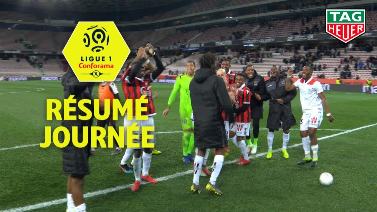 Résumé 24ème journée - Ligue 1 Conforama / 2018-19