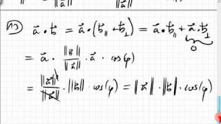 02.2.2.2 Skalarprodukt Teil 2, Orthogonalität