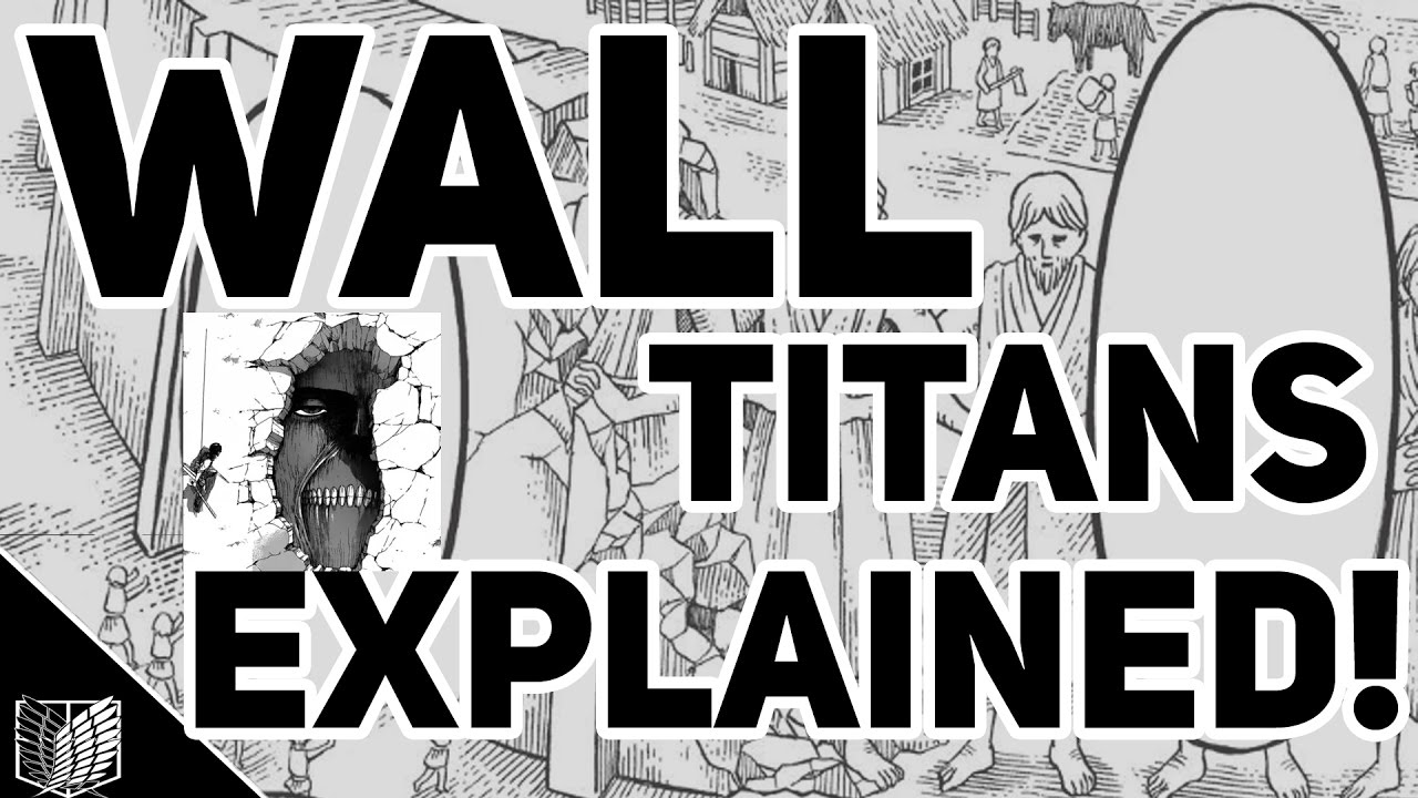 attack on titan map of walls