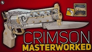 Crimson Masterworked (Exotic Catalyst) review | Destiny 2