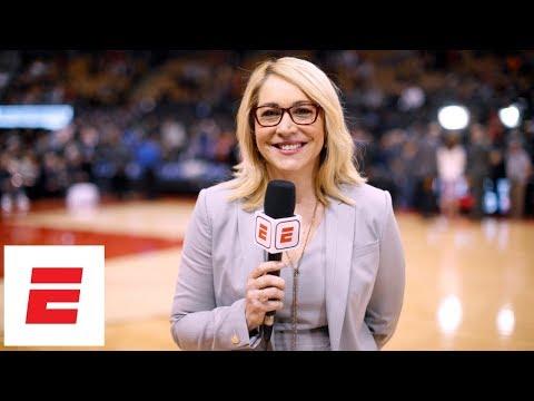Doris Burke's stellar broadcasting career   2018 Basketball Hall of Fame   ESPN