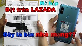 Mở hộp Redmi Note 5 (Pro) 4gb ram giá cực rẻ trên LAZADA, SHOPEE. Đây là phiên bản nhà mạng?
