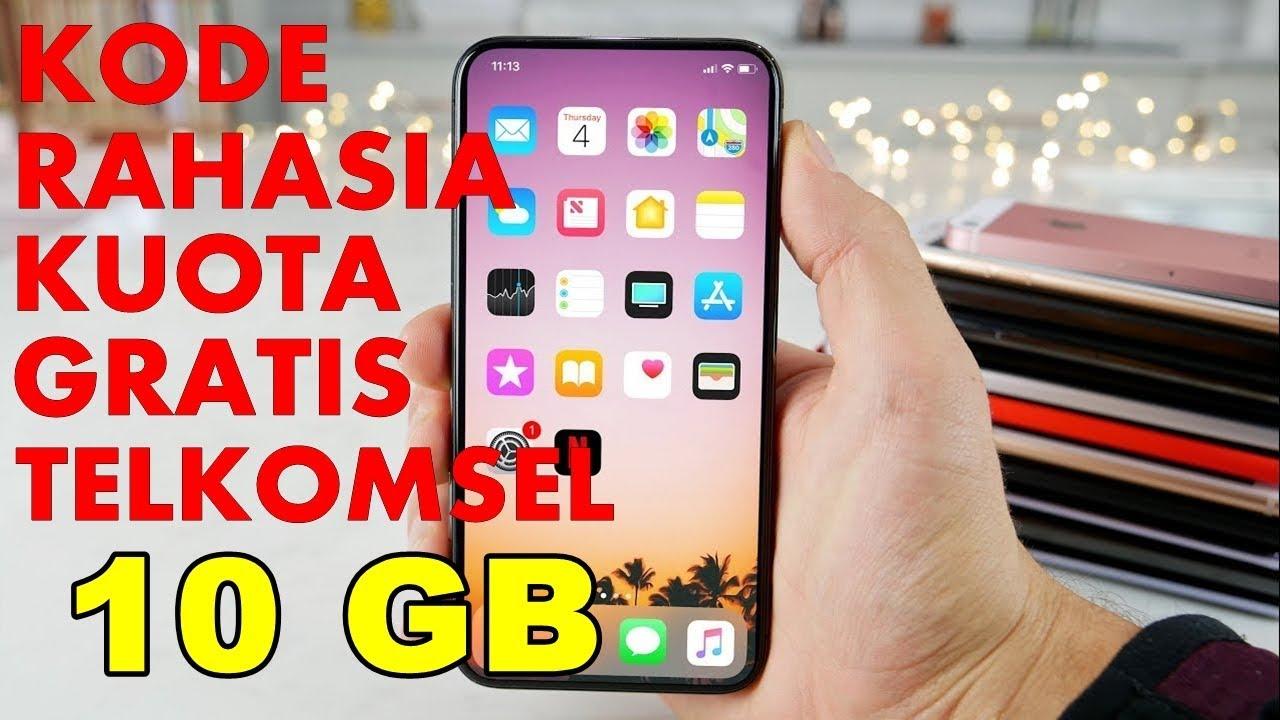 Heboh Kode Kuota Gratis 10 Gb Telkomsel 2018 Youtube