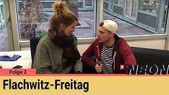 Flachwitz-Freitag: Wie nennt man weiblichen Rucola? – Folge 2