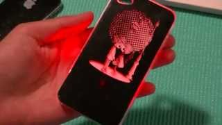 Repeat youtube video LED Color Change Case For iPhone Review: