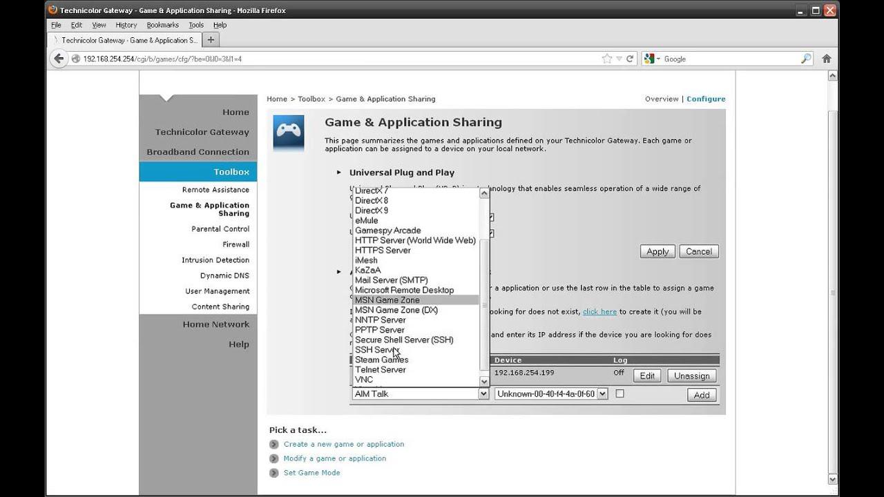 Technicolor Router Support « Demon Online Help Centre