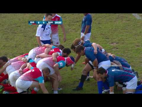 Mens 15s Nations Cup 2017 Russia vs Namibia