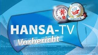Hansa-TV-Vorbericht zum Landespokal-Viertelfinale beim FC Pommern Stralsund