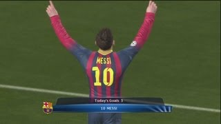 pes2014 full hd gameplay cl barcelona 6 0 ajax
