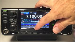 icom ic 7300 hf 50mhz transceiver complete review demo
