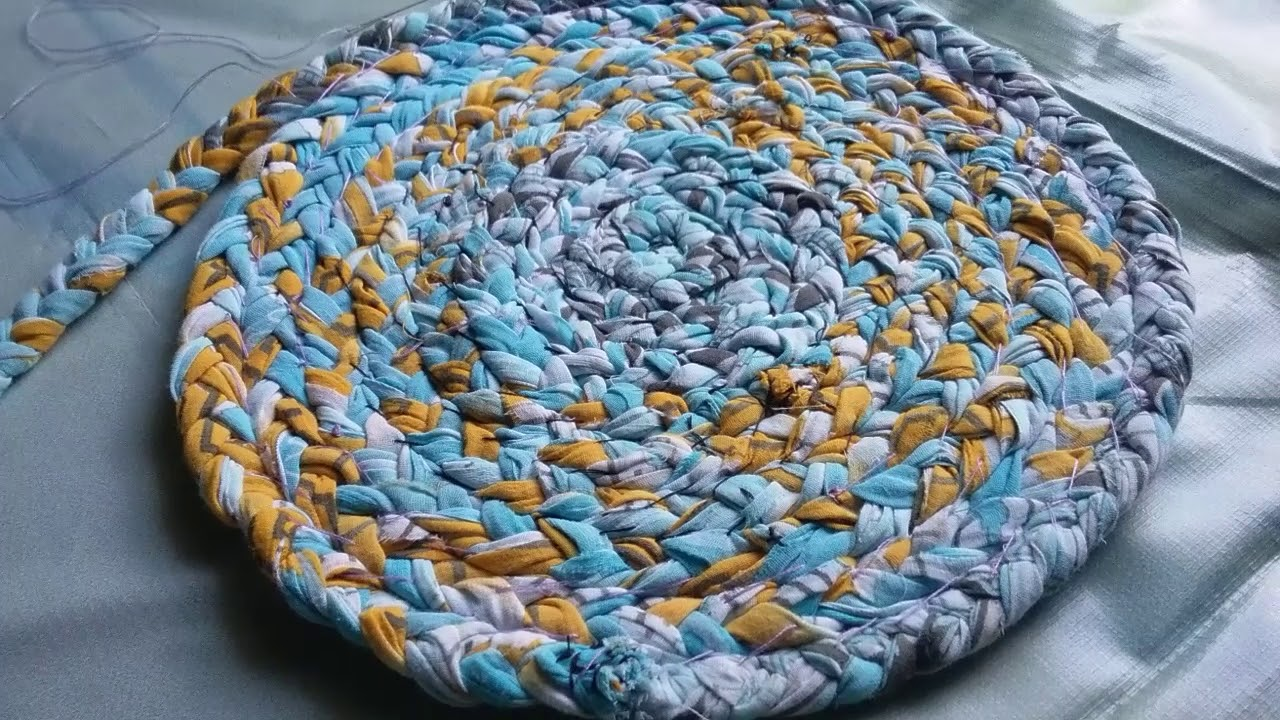 Old Clothes Recycling Ideas L How To Make Door Mat Rug