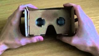 Google CardBoard - virtuální realita za pár kaček