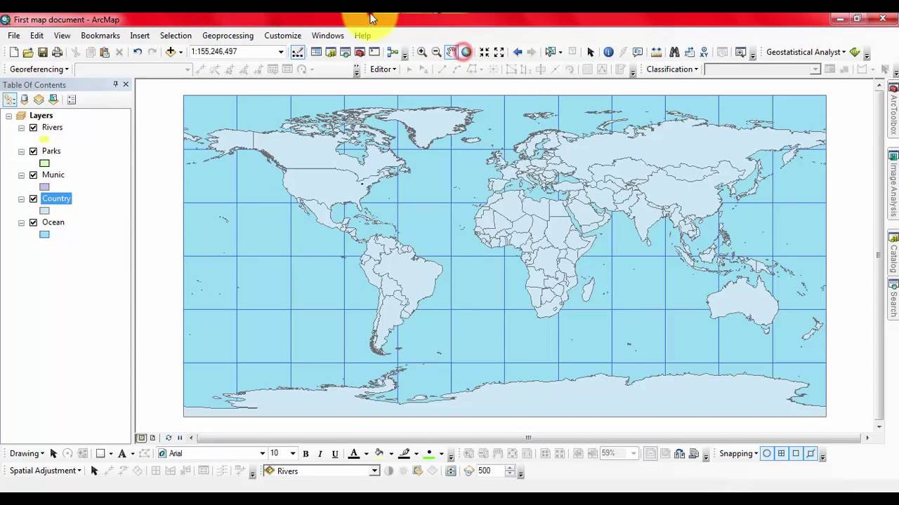 Overview of bookmarks menu in arcmap youtube overview of bookmarks menu in arcmap gumiabroncs Gallery