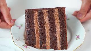 НУТЕЛЛА ОЧЕНЬ ШОКоладный торт НАДО ПРИГОТОВИТЬ Я ТОРТодел