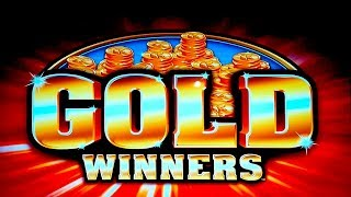 Double Jackpot Triple Blazing 7s Gold Winners Slot   Nice Session, All Features!