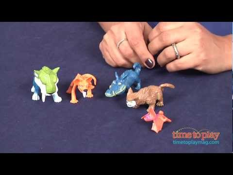 The Croods Croodaceous Creatures Pack from FisherPrice