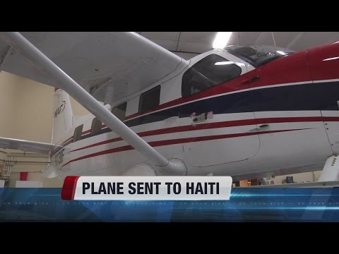 Plane from the Treasure Valley sent to Haiti