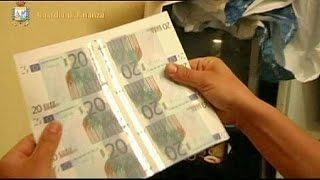 İtalya'da sahte Euro basan şebeke çökertildi