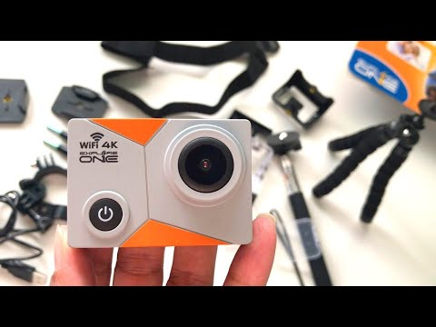 Explore One 4K Action Camera with WiFi | Review and How to Use 2020